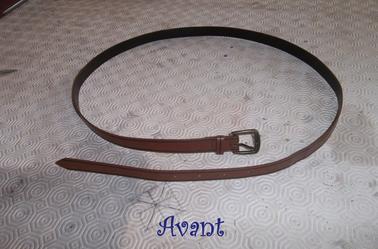 DIY : ceintures