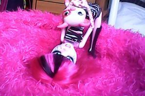 seance photo de Rosa avec Pink