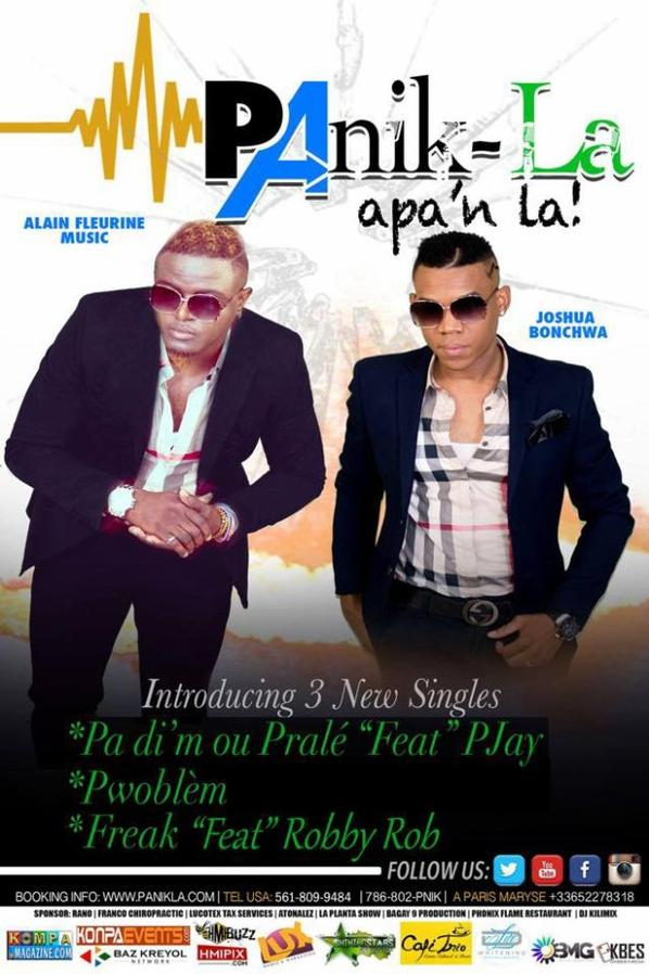 PANIK LA featuring Salil - PWOBLEM #1 Haitian Music Website for 24/7 breaking news, Party Pictures, New Music, New artists/groups, Live video performances + More! SOUNDCLOUD.COM|PAR KOMPAMAGAZINE-COM