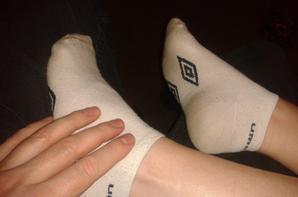 Mes chaussettes Umbro