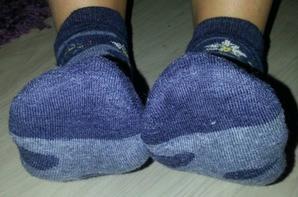 Mes chaussettes bleues
