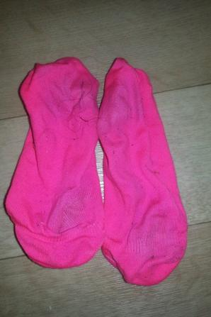 Mes chaussettes roses
