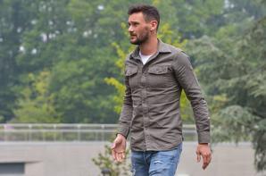 Hugo Lloris & Olivier Giroud arrive a Clairefontaine
