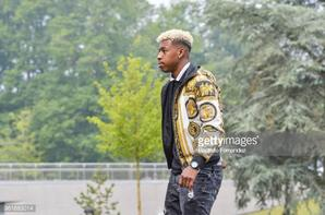 Presnel Kimpembe arrive a Clairefontaine
