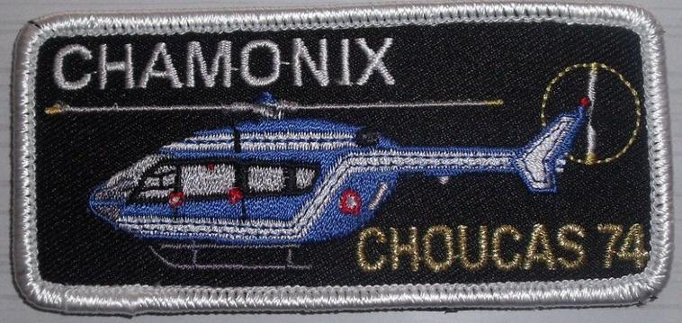 Ecussons des Hélicos de la Gendarmerie
