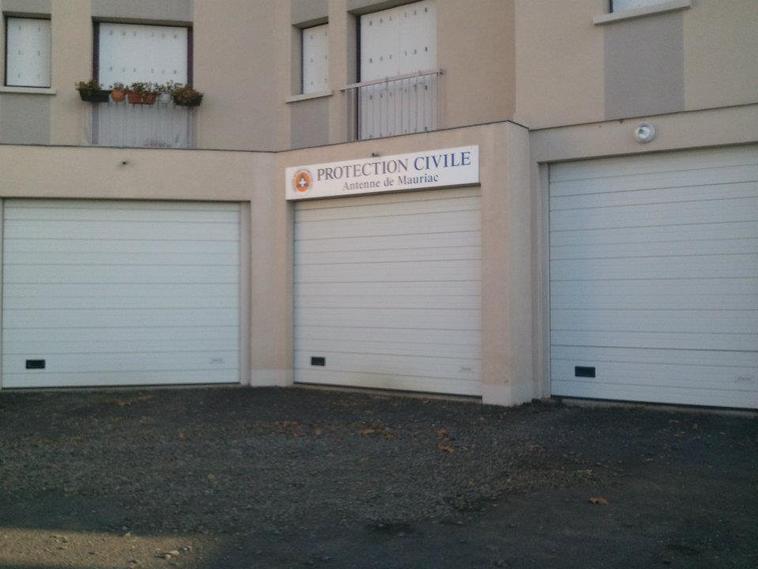 Protection Civile du Cantal antenne de Mauriac
