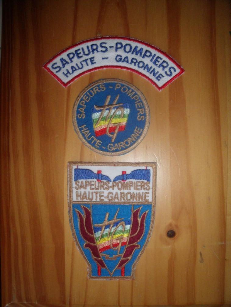 Ma collection sur les pompiers de Toulouse (31)