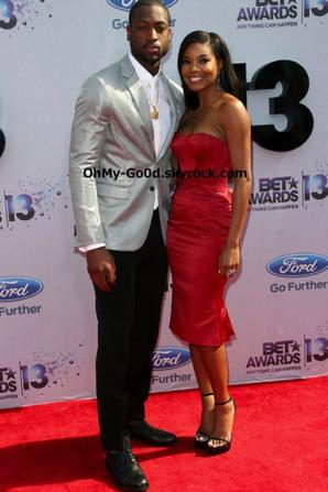RED CARPET Du BET Awards 2013 - Couples