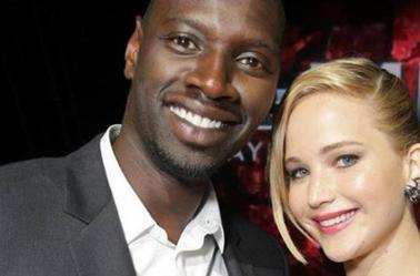 The beautiful Jen with the dashing Omar SY *.....* ❤❤❤❤❤❤