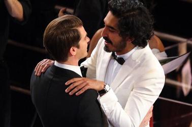 Two of my fave actors together !!!! *......* ❤❤❤ #AndrewGarfield #DevPatel #PleaseDate