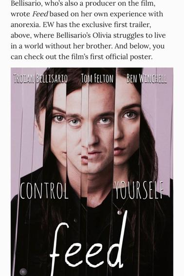 Brilliant movie ! #Feed #TroianBellisario #Genius #TomFelton  *....* ❤❤❤