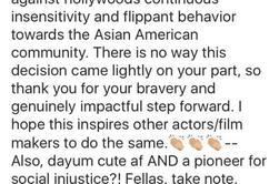 Hell yeah Ed Skrein ! #StopWhitewashing #AsianAmericanRepresentationinMovies