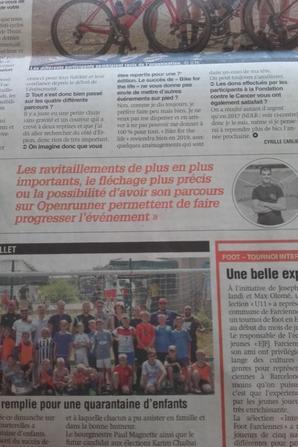 Bel article de la Nouvelle Gazette de Charleroi du 18/07/2018, merci!!! ;-)