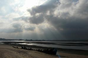 L'estuaire de l'Orne.