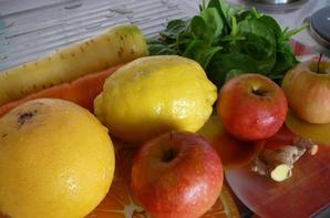 """Jus légumes et fruits maison """"-"""""""