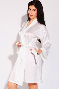 Ionlyou 100% Silk Sexy Nightgown