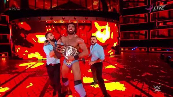 Champions de la WWE après Hell In A Cell 2017: Nouveau Champions par équipe de SmackDown: The Usos et Nouveau Champion des Etats-Unis: Baron Corbin