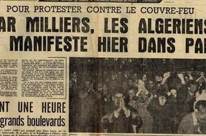 La Nuit Noir De Massacre du 17 octobre 1961