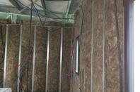 Placo, électricité, isolation des murs