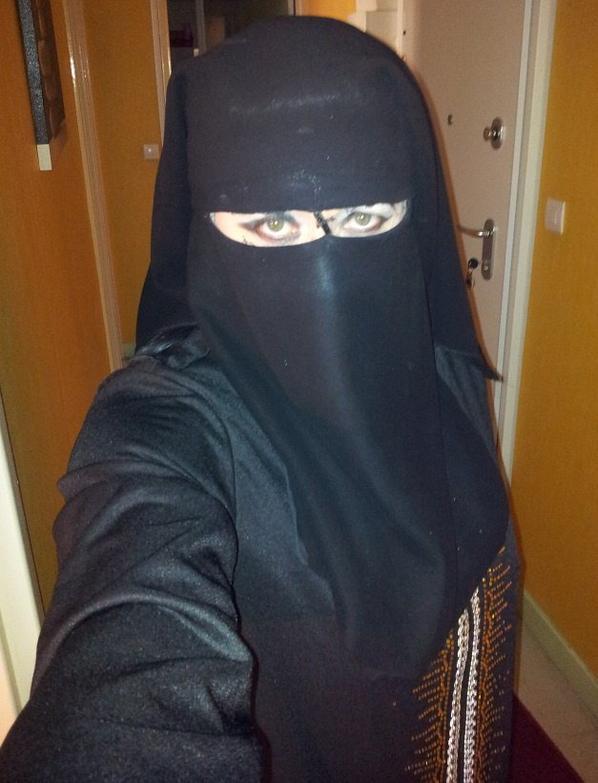 mon regard en niqab