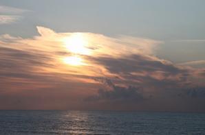 Couchers de soleil sur la mer