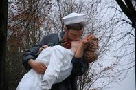 Bastogne ..... et leur statue KISS