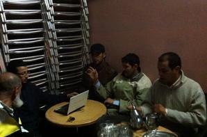 concoure kelaa et une rencentre avec les amis au cafée