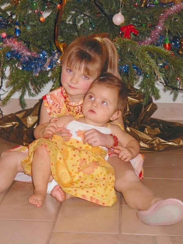 La p'tite soeur & moi ♥