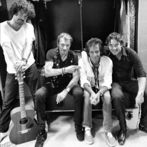 Johnny et musiciens