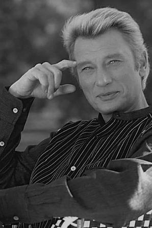 Johnny en noir et blanc