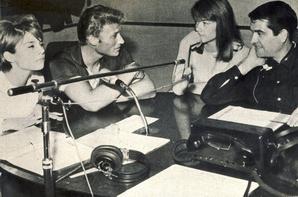 Johnny et Françoise Hardy