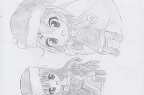 Quelques dessins de Noël *-* ♥.