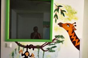 """décoration murale """"ROI LION"""""""