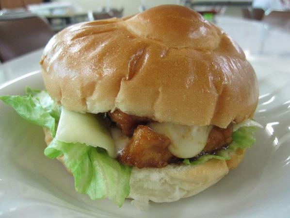 Un burger végétarien!