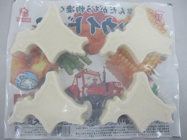 Voilà Hokkaido-fu!! Ce tofu est nommé d'après Hokkaido.