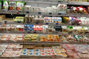 Les tofus d'Otokomae Tofu à Isetan en Singapour
