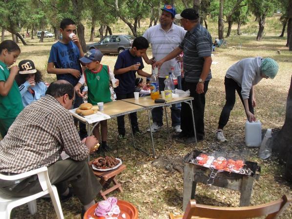 Echecs loisir à la forêt maamora kenitra