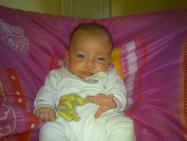 les 3 mois de ma fille