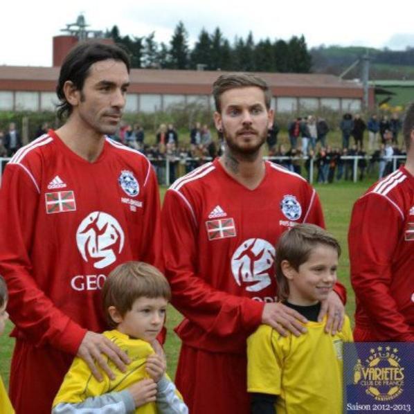 Photo du jour au match de foot à Saint-Jean-Pied-de-Port (64)