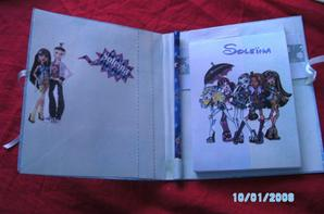 carnet monster high n°2