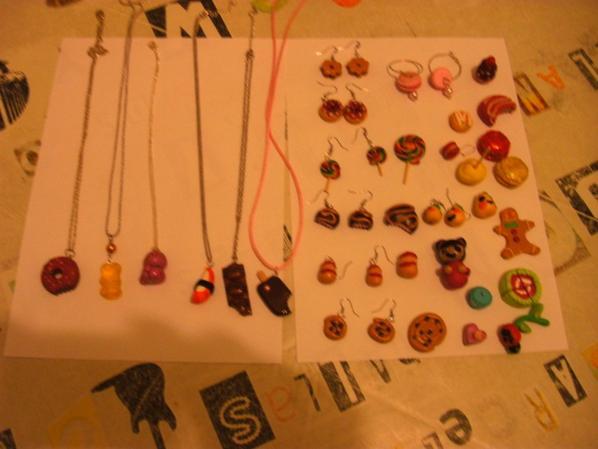 bijoux en fimo