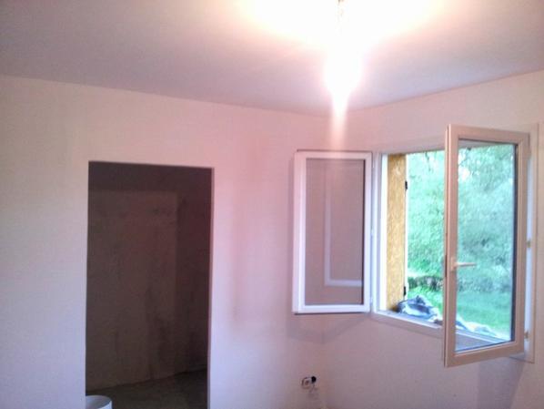 Nouvelle Chambre-Placo Peinture - Maison-Yoca