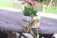 Tutoriel cache-pot Carotte en bois