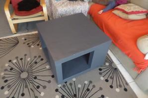 Suite table basse en carton