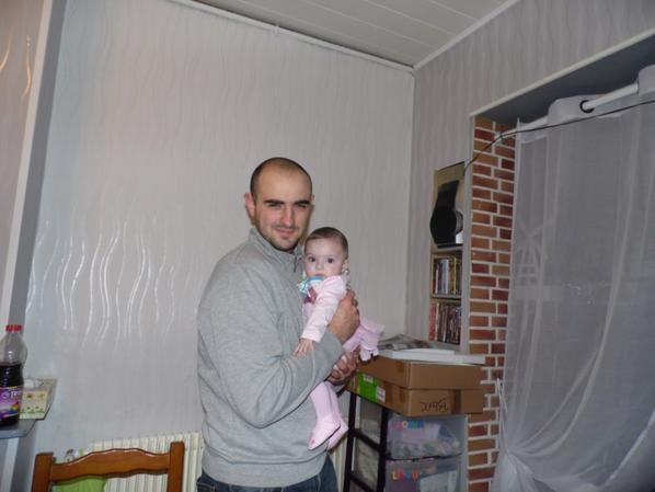 lilou ma dexieme petite fille a 4 mois et demie