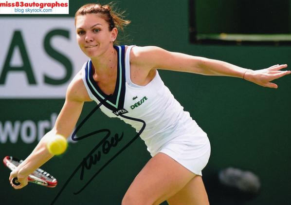 SIMONA HALEP  (joueuse de tennis)