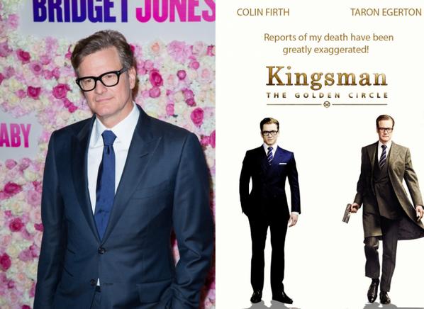 COLIN FIRTH  (Bridget Jones - A Single Man - Kingsman ...)