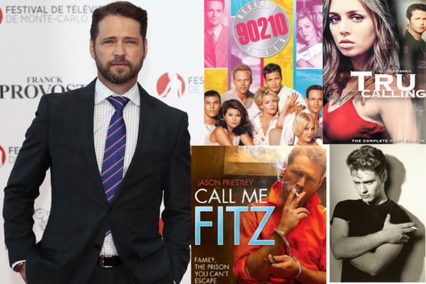 JASON PRIESTLEY  (Beverly Hills 90210 - Tru Calling - Call Me Fitz)
