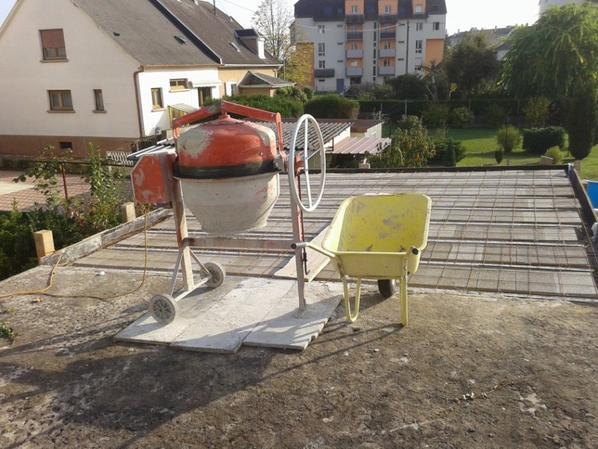 Mercredi préparation du chantier ...