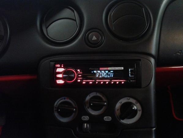 Changement autoradio